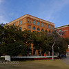 The Texas Schoolbook Depository from the grassy knoll.