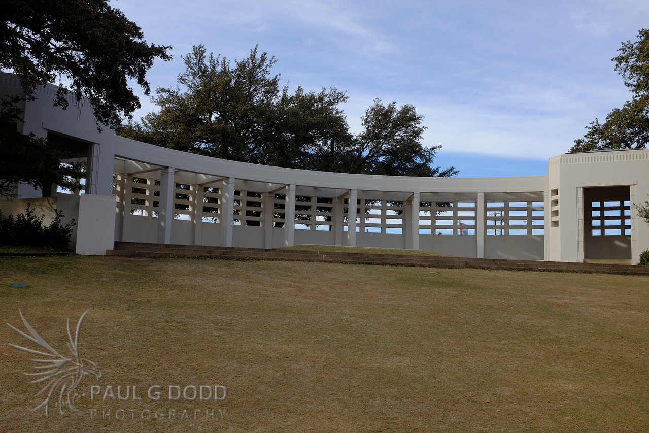The grassy knoll.