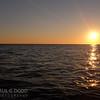 At sea, just after dawn