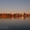 Portland Harbour at dawn