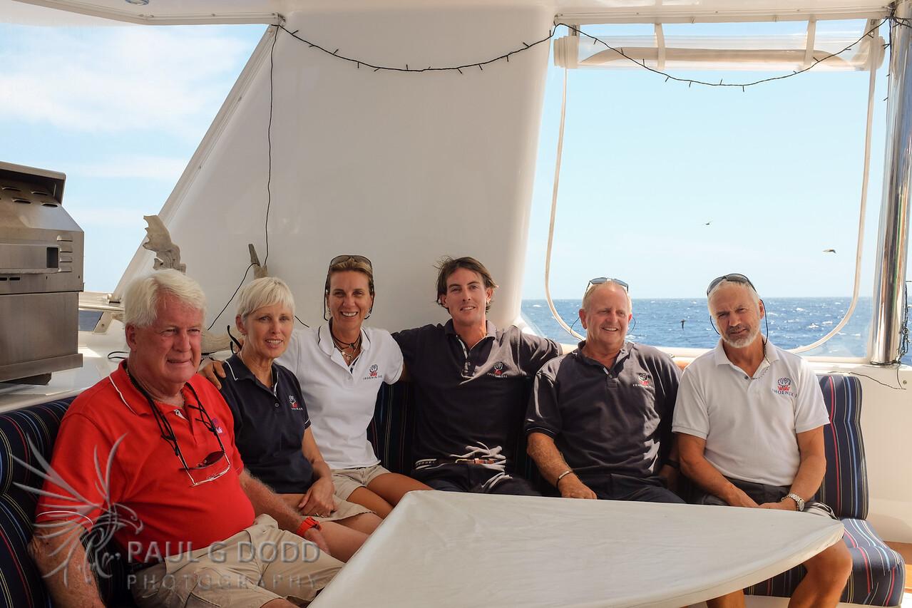 MV Phoenix One crew