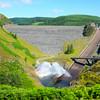 Llyn Brianne Dam and Spillway