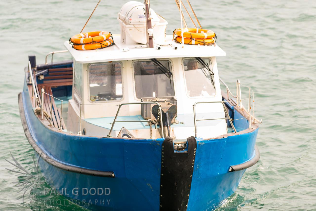 Skomer ferry