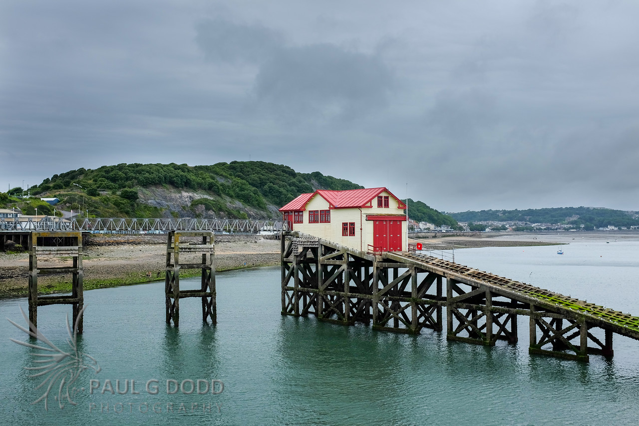 The old lifeboat house on Mumbles Pier