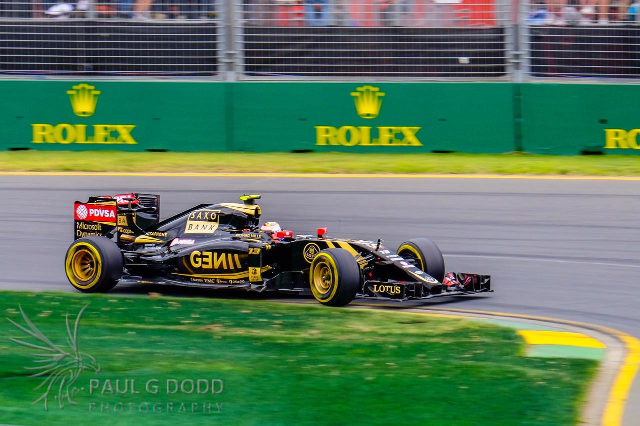 Pastor Maldonado: Lotus