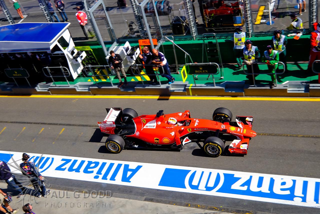 Sebastian Vettel: Scuderia Ferrari