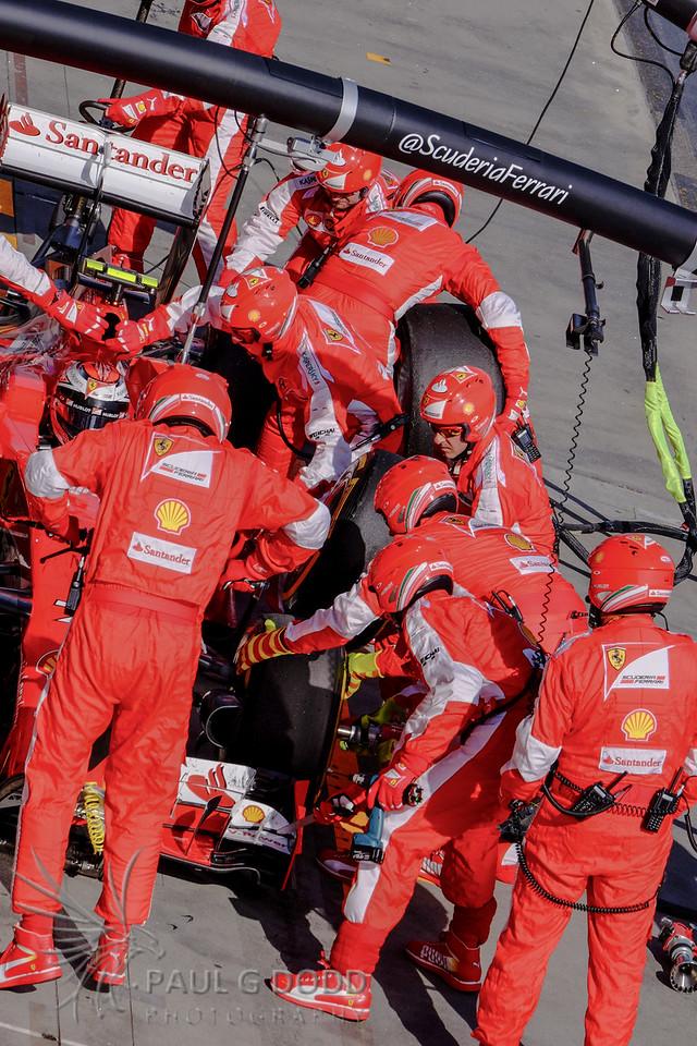Kimi Räikkönen: Scuderia Ferrari - botched pitstop