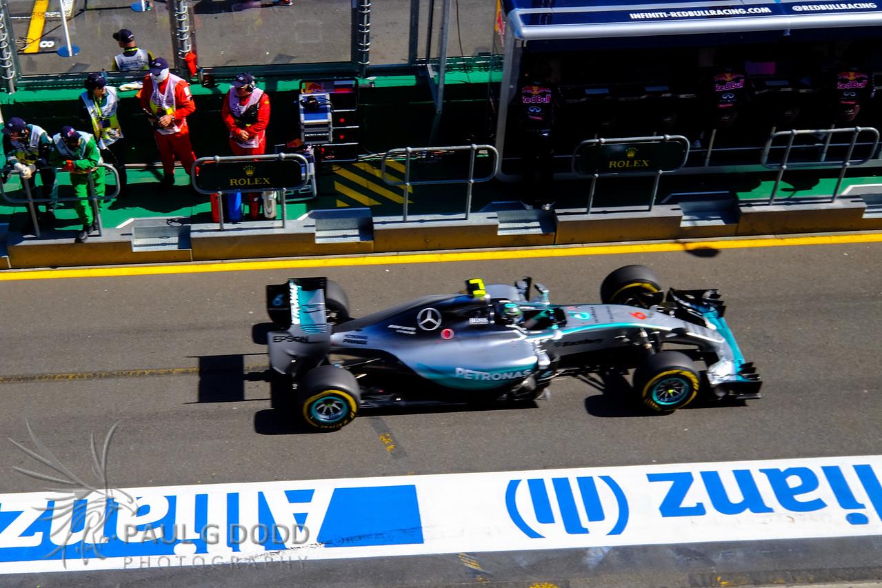 Nico Rosberg: Mercedes AMG