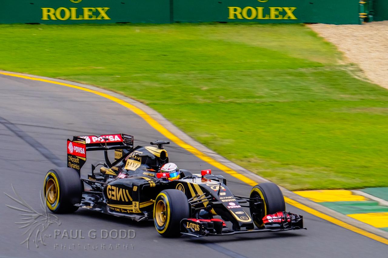 Romain Grosjean: Lotus