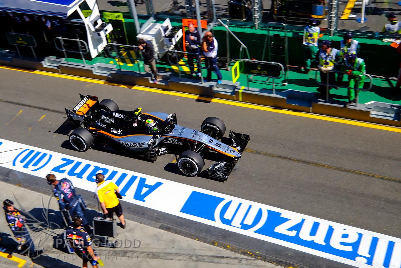 Sergio Pérez: Force India