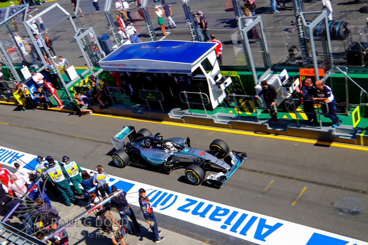 Lewis Hamilton: Mercedes AMG