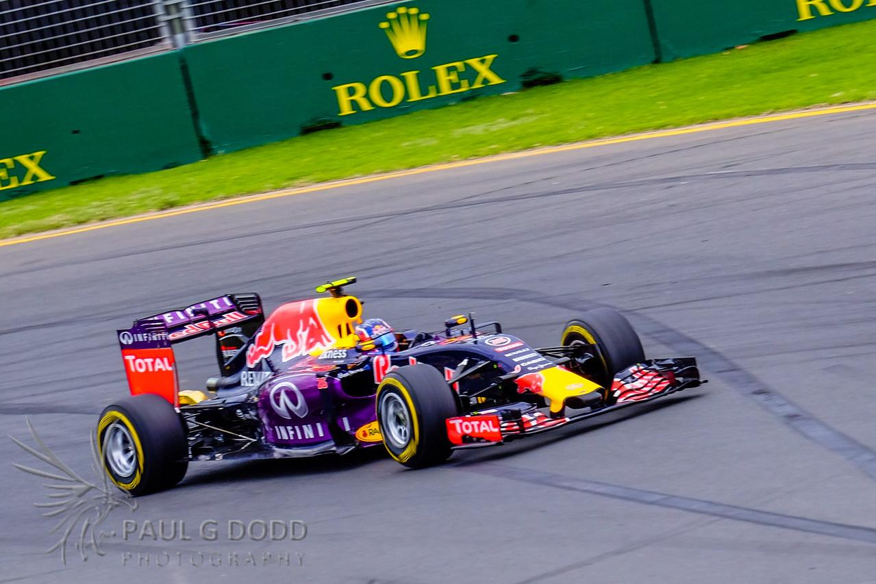 Daniil Kyvat: Red Bull Racing