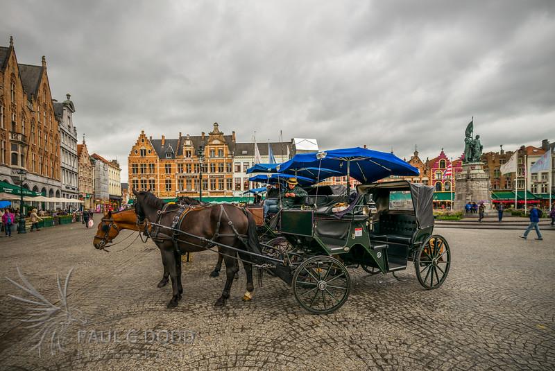 Grote Markt, Bruges, Belgium