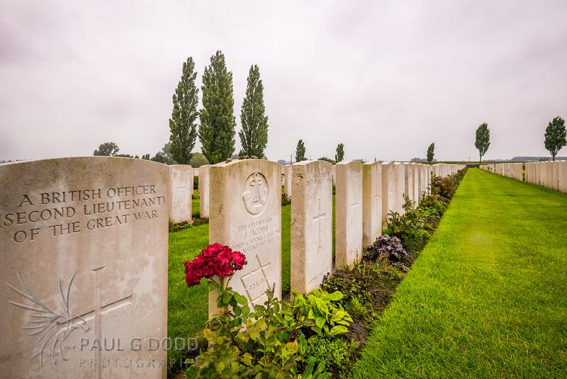 Tyne Cot Military Cemetery, Passchendaele, Belgium