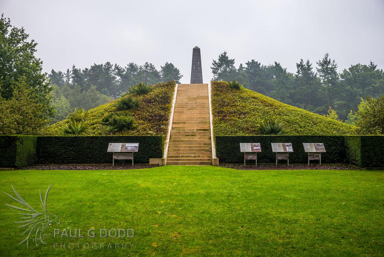 Australian 5th Division Memorial, Passchendaele, Belgium