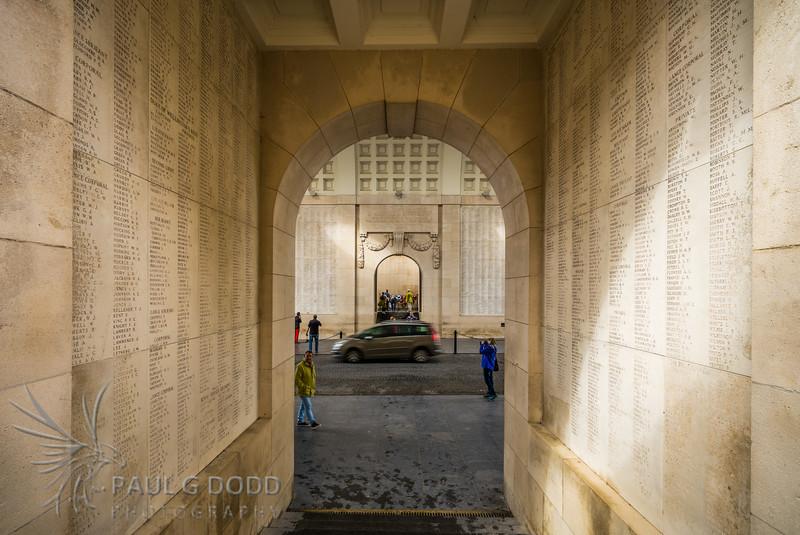 Menin Gate, Ypres, Belgium