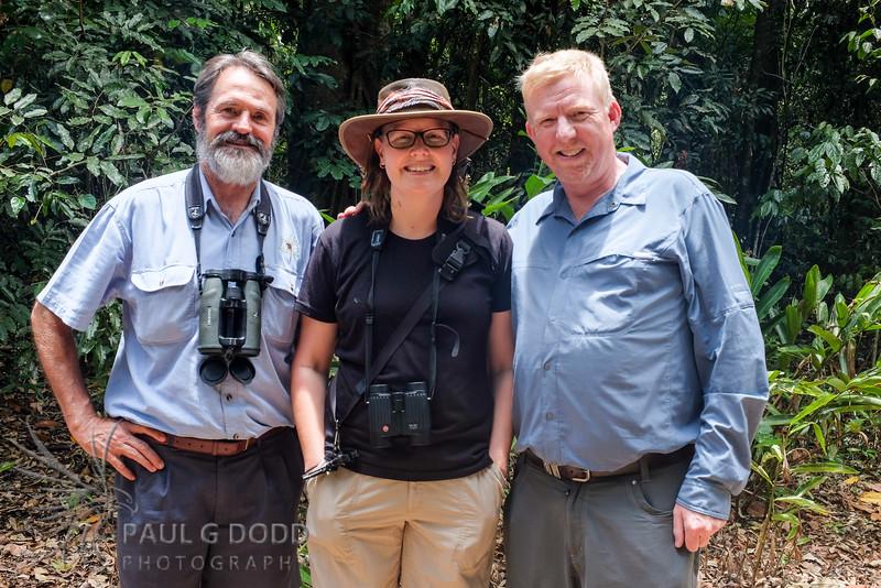 Alan Gillanders, Ruth Woodrow, Paul Dodd