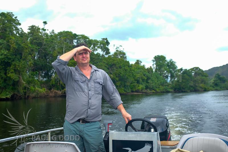 Murray Hunt, The Daintree Boatman