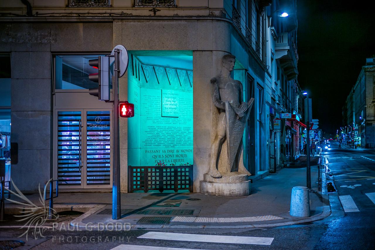 Resistance Memorial, Lyon
