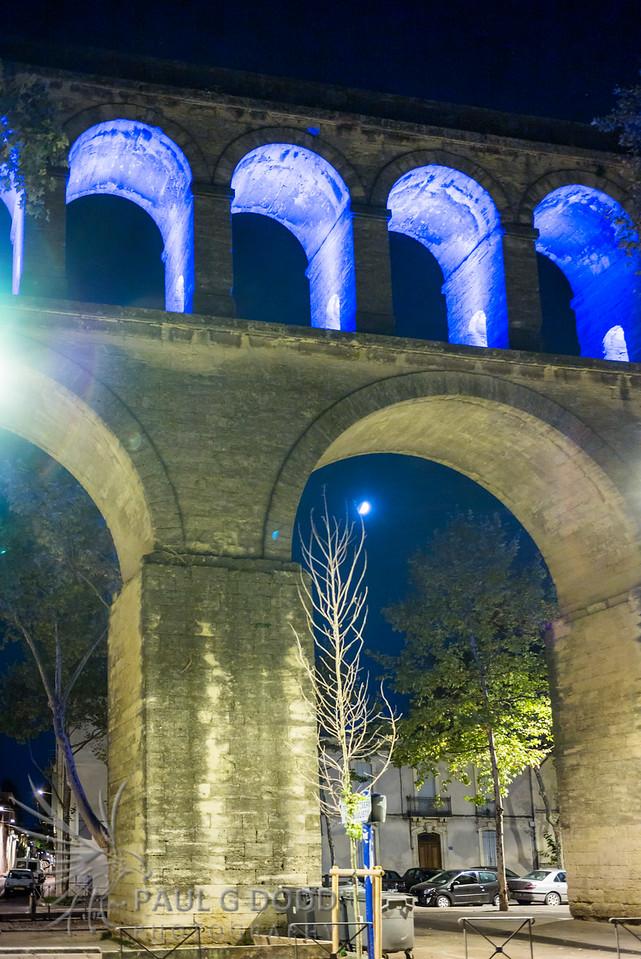 L'aqueduc Saint-Clément, Montpellier