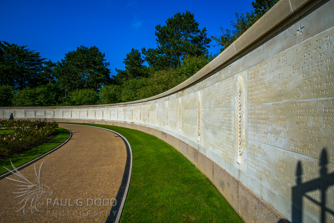 Normandy American Cemetery and Memorial, Normandy