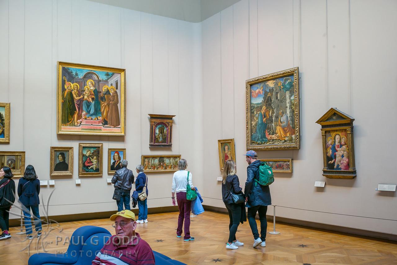 """Michelangelo's """"Dying Slave"""", Musée du Louvre, Paris"""