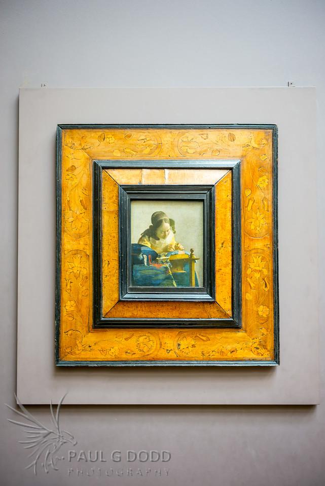 The Lacemaker (Vermeer), Musée du Louvre, Paris