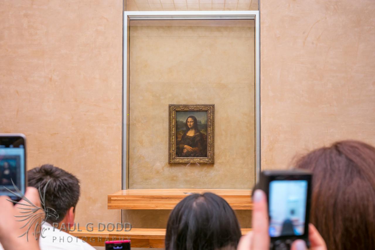 Mona Lisa, Musée du Louvre, Paris