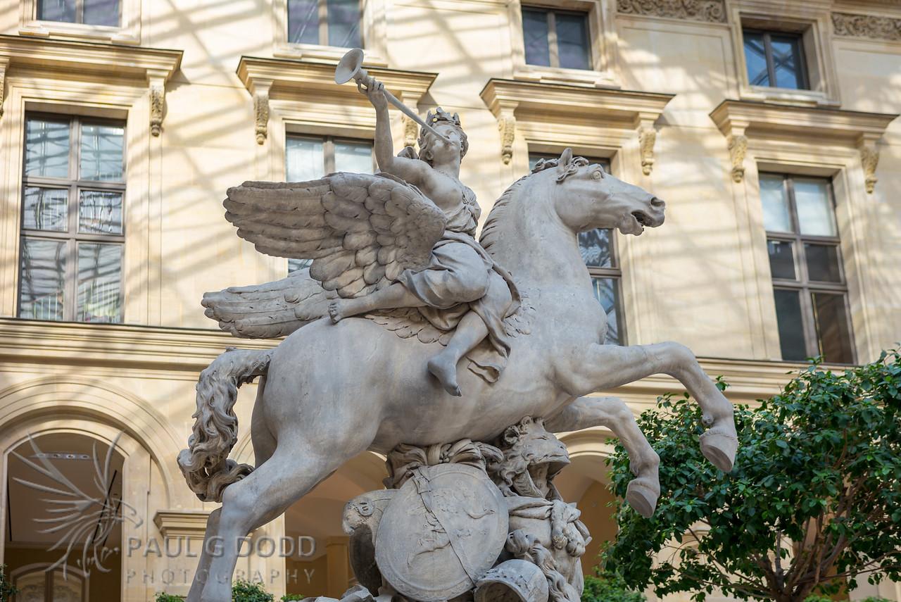 Winged Horse, Musée du Louvre, Paris
