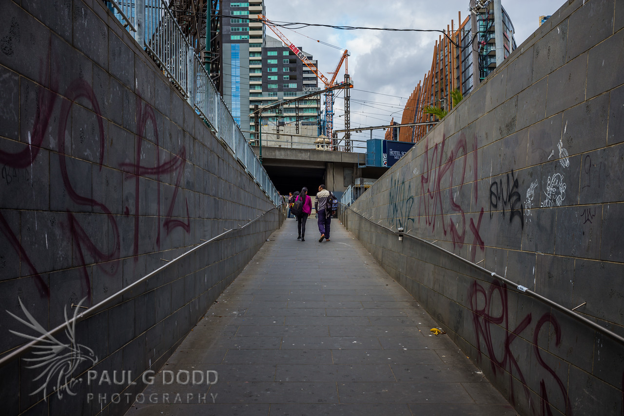 Flinders Street West Walkway