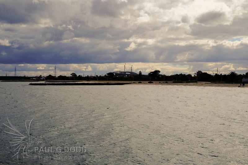 West Gate Bridge from Princes Pier