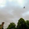 Spitfire over RAF Chapel, Biggin Hill