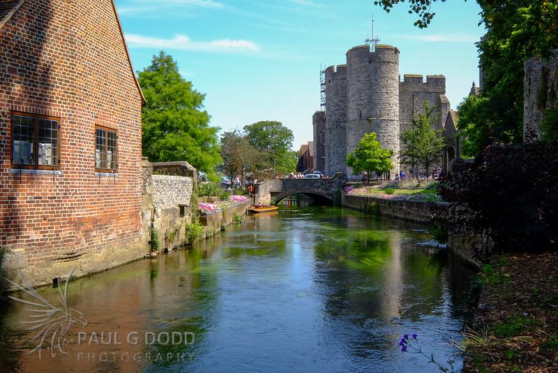 Great Stour, Canterbury