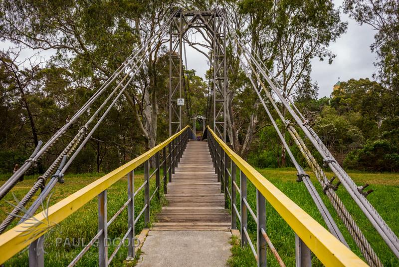 Finns Reserve (Odyssey House) Footbridge