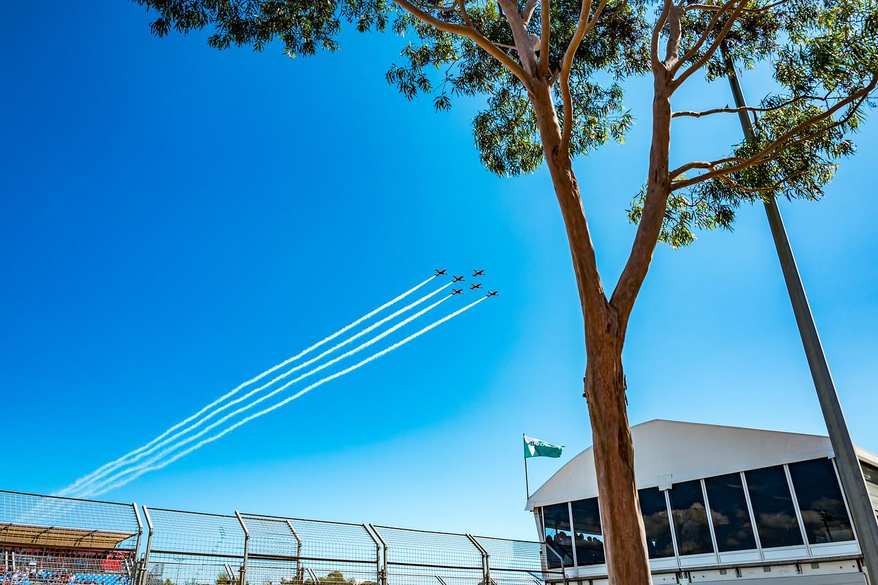 RAAF Roulettes, Australian Formula 1 Grand Prix