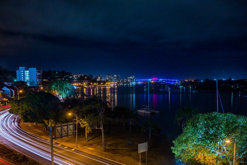 Gateway Bridge from Ascot, Brisbane