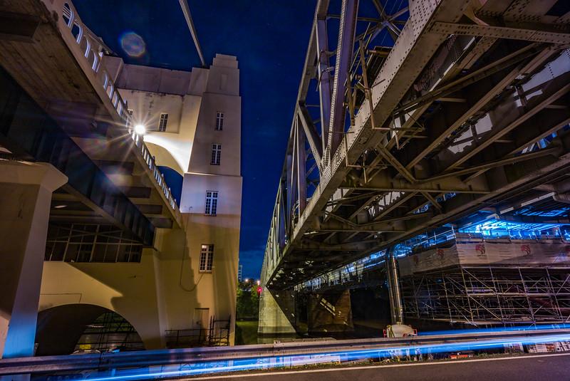 Walter Taylor Bridge, Indooroopilly Railway Bridge, Albert Bridge