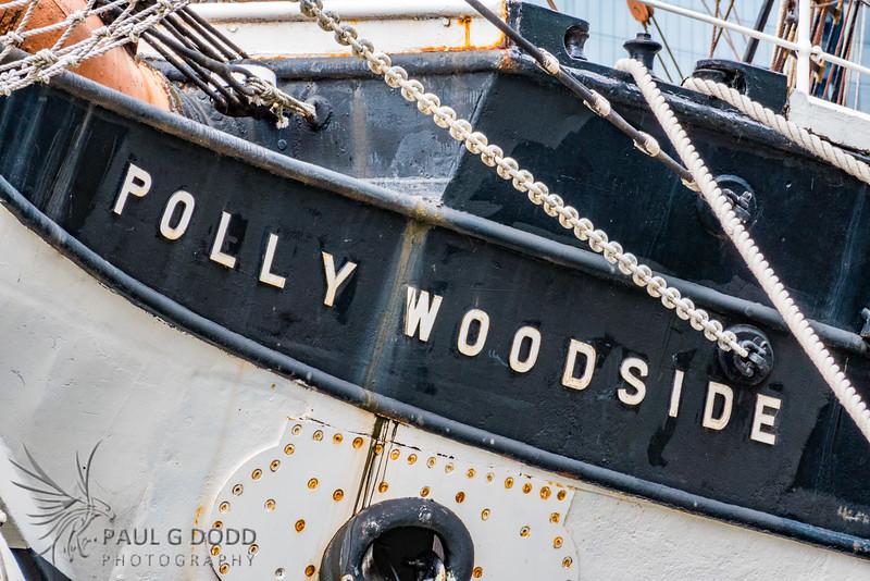 Polly Woodside, Docklands