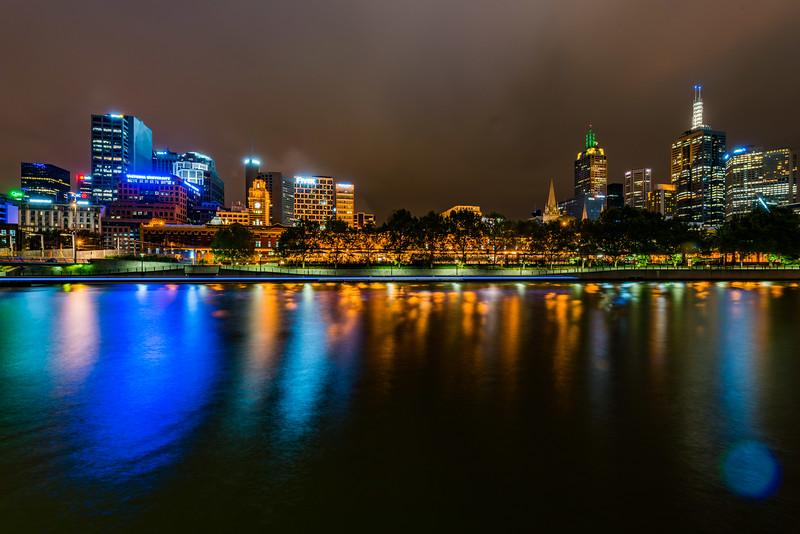 Yarra River, Flinders Street Station, Melbourne