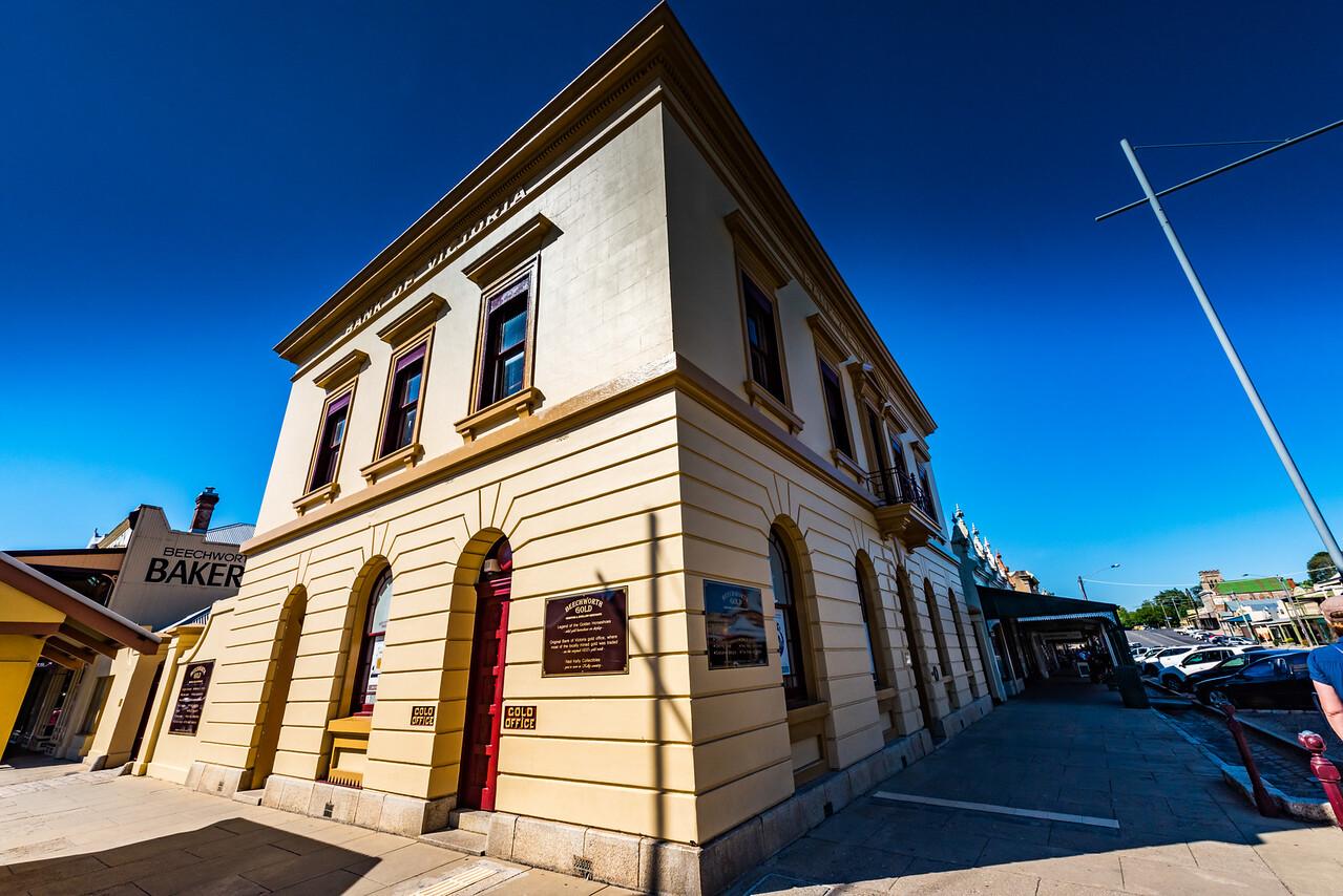 Bank of Victoria Gold Office, Beechworth