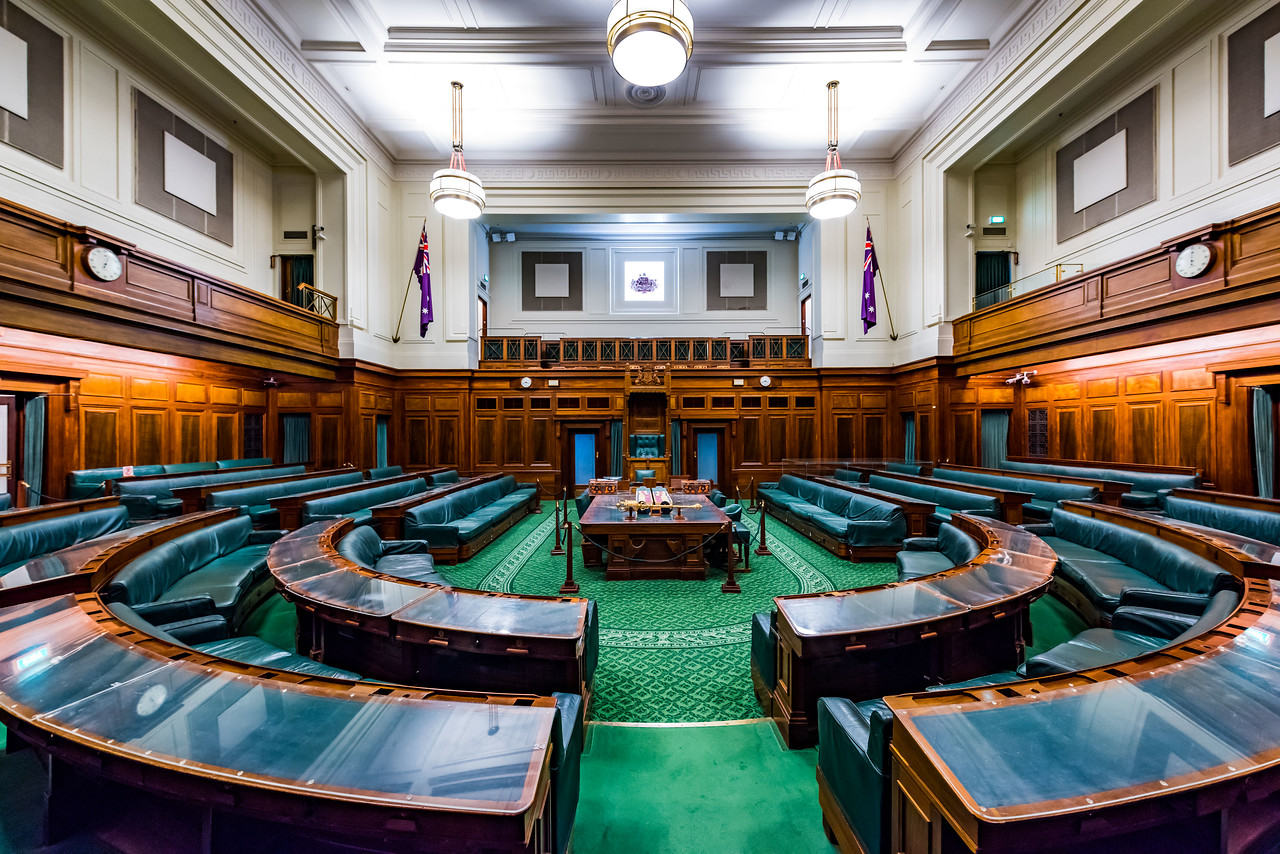House of Representatives Chamber, Old Parliament House, Canberra