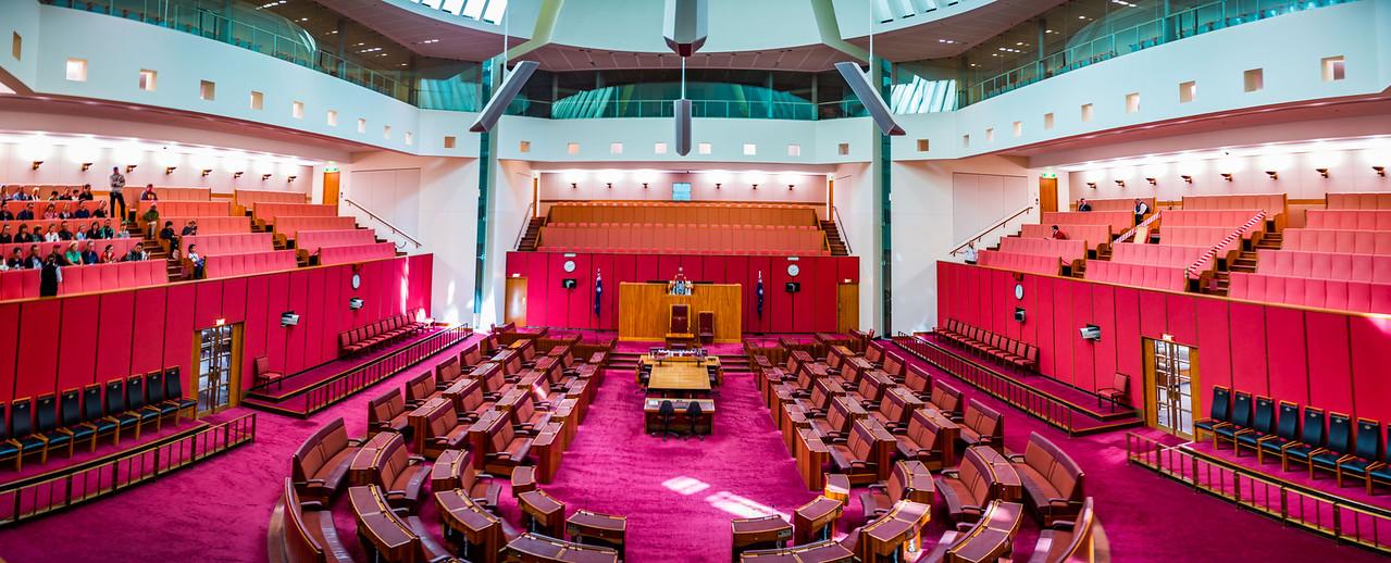 Senate Chamber, Parliament House, Canberra