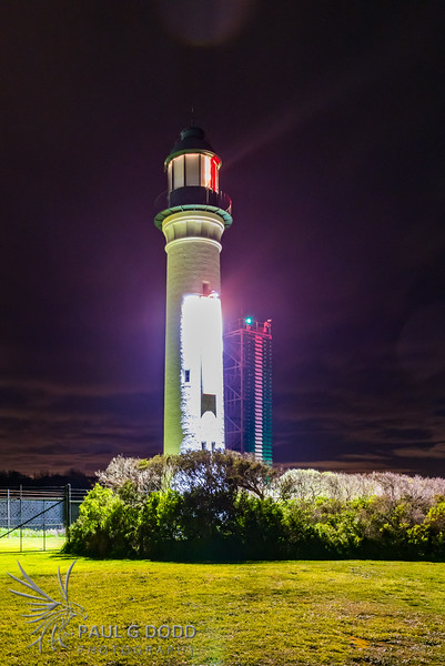 Queenscliff White Lighthouse