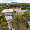 Disused observation tower