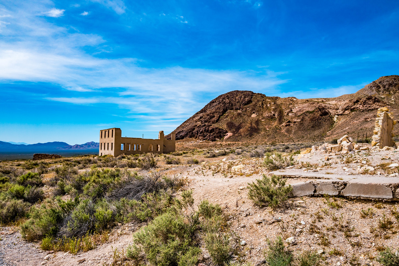 Rhyolite ghost town, Death Valley