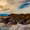 Zabriskie Point panorama #2, Death Valley