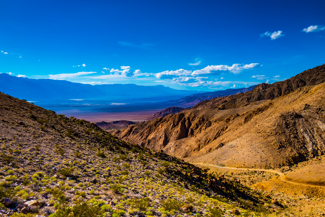 Lippincott Pass, Death Valley
