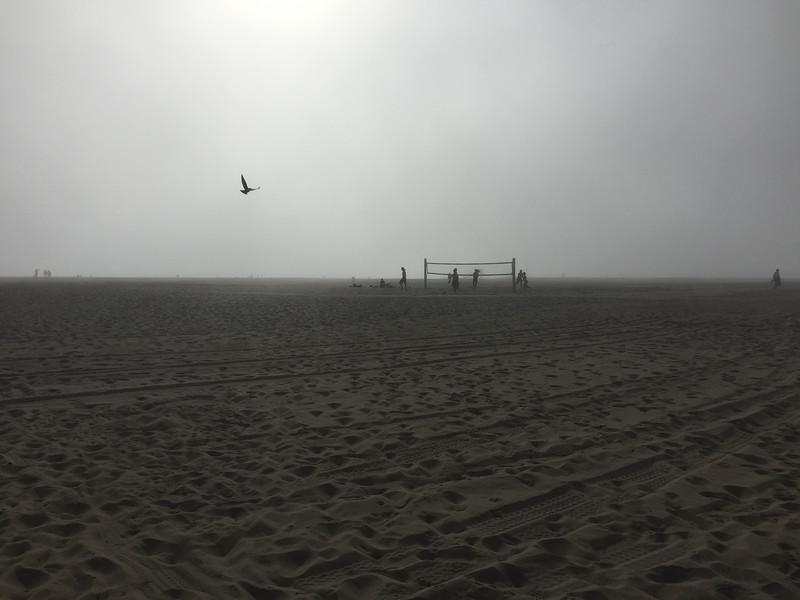 Venice Beach sea mist