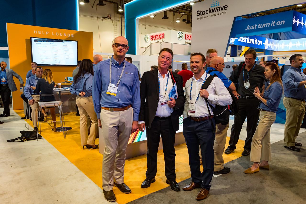 Aussies @ NADA (Brendan Bates, Roger Bushell, Aaran Newman)