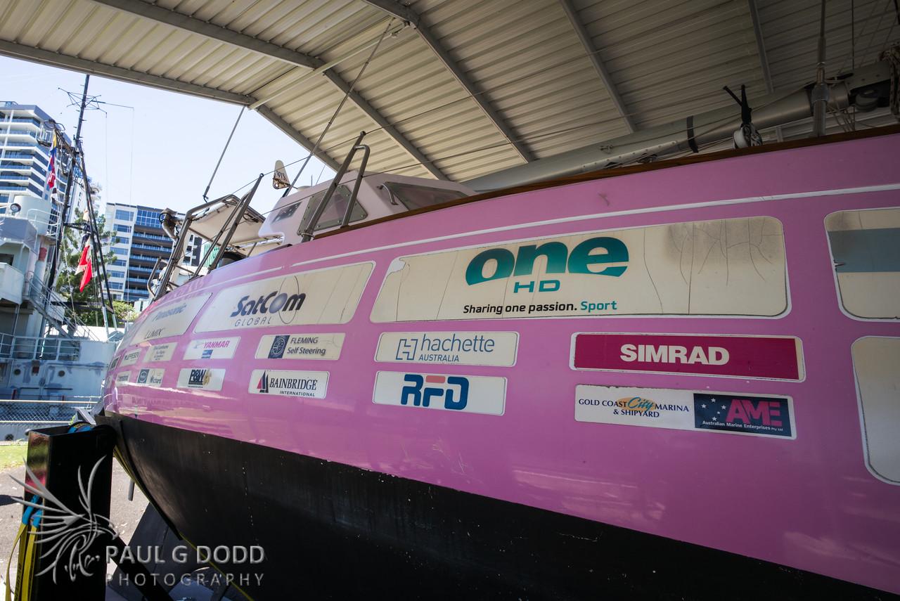 Ella's Pink Lady (Jessica Watson's round-the-world boat)